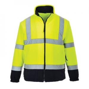 двухцветная флисовая куртка (yellow) Portwest