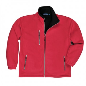 city fleece (red) Portwest