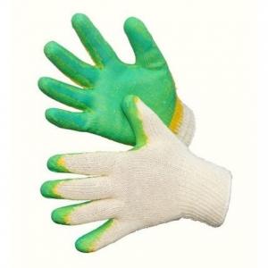 Перчатки трикотажные двойной облив