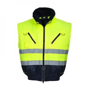 Светоотражающая 3 в 1 куртка Пилот (Yellow)