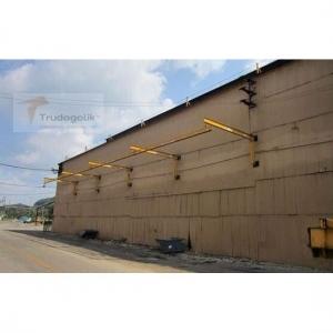 Cтационарная линия с установкой на стену здания