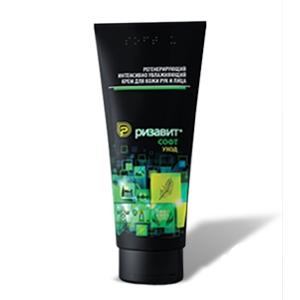 Регенерирующий интенсивно увлажняющий крем для особо сухой кожи рук и лица «РизаВит® Софт. Уход», 100мл