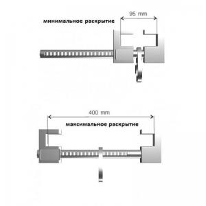 Зацеп на двутавр от 95 мм до 400 мм