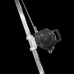 """Блокирующее устройство втягивающего типа со встроенной лебедкой """"НВ evak 15"""""""