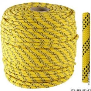 Веревка статическая «ВЫСОТА 11» 11мм, длина 200м