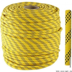 Веревка статическая «ВЫСОТА 11» 11мм, длина 100м